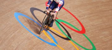 Team GB's Jason Kenny won silver in the men's team sprint moments after wife Laura Kenny had done the same in the women's team pursuit at the Tokyo 2020 Olympics