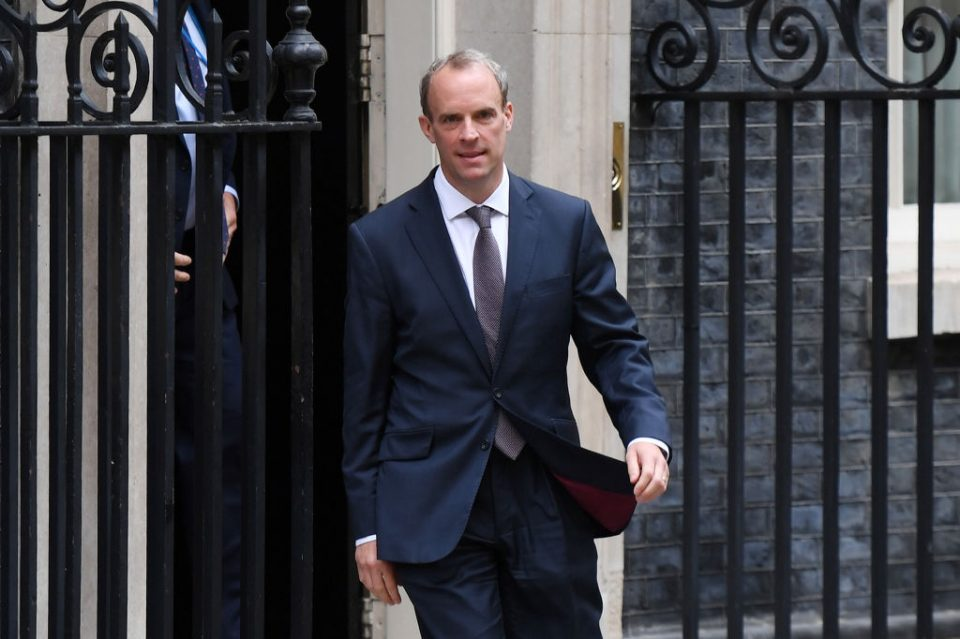 Dominic Raab Scrutinised Over Handling Of Situation In Afghanistan
