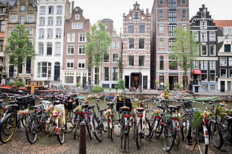 'Floral Vandals' Take To the Streets Of Amsterdam To Mark The Opening Of Kimpton De Witt Hotel