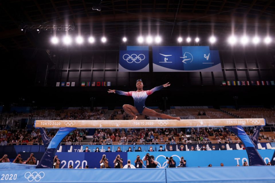 Simone Biles won bronze in the women's beam on her comeback at the Tokyo 2020 Olympics