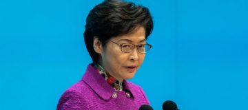 Hong Kong Chief Executive Carrie Lam Delivers Annual Address