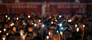 Hong Kong Marks 30 Years Since The Tiananmen Massacre