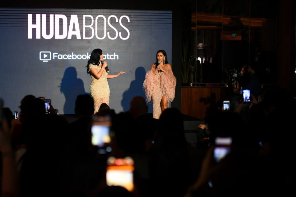 Huda Boss Facebook Watch Celebration in Dubai