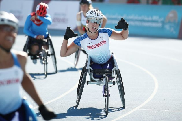 Paralympics GB wheelchair racer Hannah Cockroft has already set new 100m, 200m, 400m and 800m records this year
