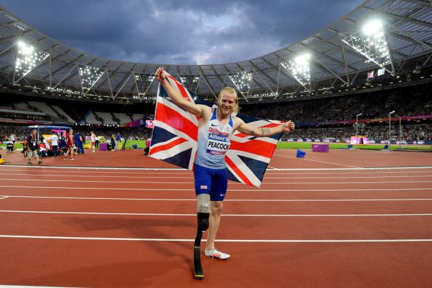 ParalympicsGB sprinter Jonnie Peacock will be looking for further success at Tokyo 2020