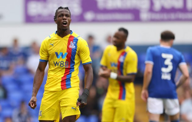 Wilfried Zaha is likely to be Crystal Palace's chief threat again this season