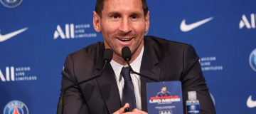 Lionel Messi - Presentation at PSG