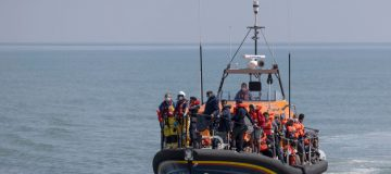 Migrants Cross English Channel From France