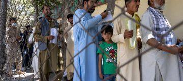 Afghanistan - More Displaced Afghans Arrive In Kabul As Taliban Gains Ground