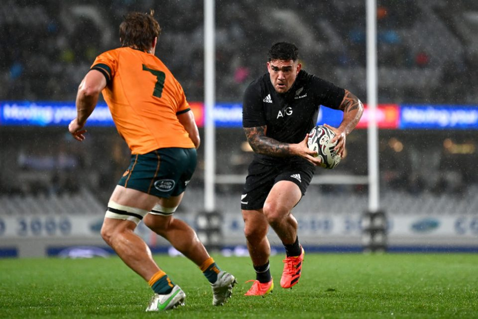 Altrad will replace AIG as front-of-shirt sponsor for the All Blacks and Black Ferns from 2022