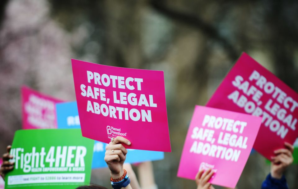 """Pro-Choice Rally """"Fight4Her"""" Held Outside White House"""