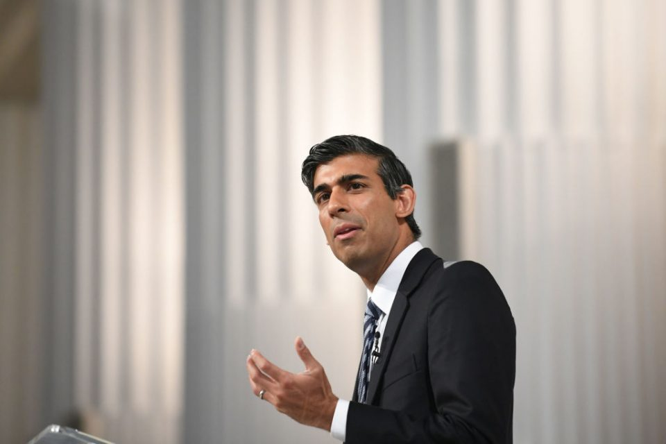 Rishi Sunak Delivers 'Mansion House' Speech At The Professional And Financial Services Dinner