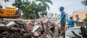 Search For Survivors Continues In Haiti After 7.2 Quake And Tropical Storm