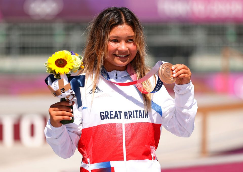 Sky Brown - aged 13 years and 28 - days won skateboarding bronze to become Britain's youngest ever Olympic medallist