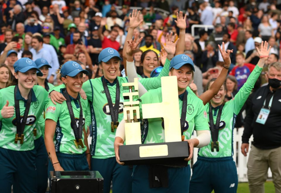 The Oval Invincibles won the women's competition in the inaugural season of The Hundred, which finished on Saturday at Lord's