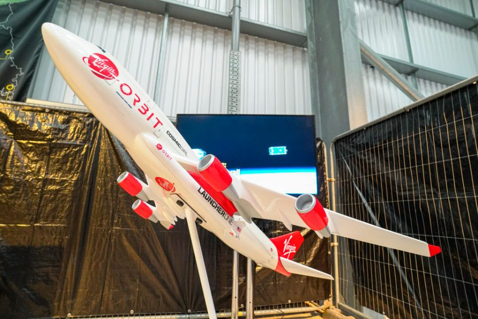Spaceport Cornwall Opens Exhibition On Satellites At Newquay Airport