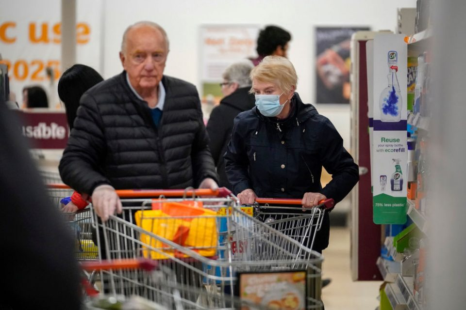 Supermarkets Enforce Rules To Stop 'Panic Buying,' And Help Elderly