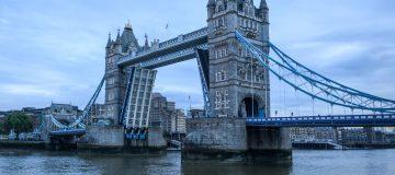 Tower Bridge Sticks In The Raised Position
