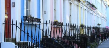 Rent prices are falling across the capital
