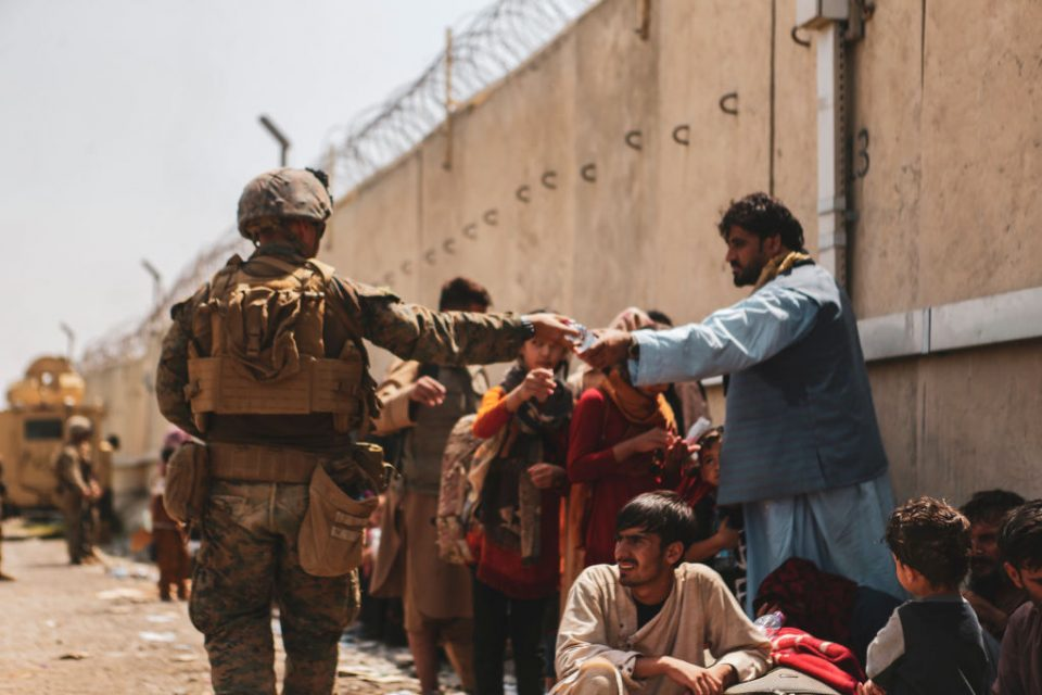 US And European Defence Forces Assist In Evacuations From Afghanistan Following Taliban Takeover