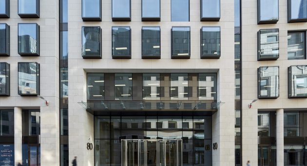 Royal London insurance moves HQ to EightyFen in City of London