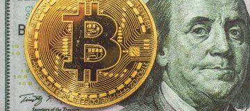 Bitcoin on a dollar
