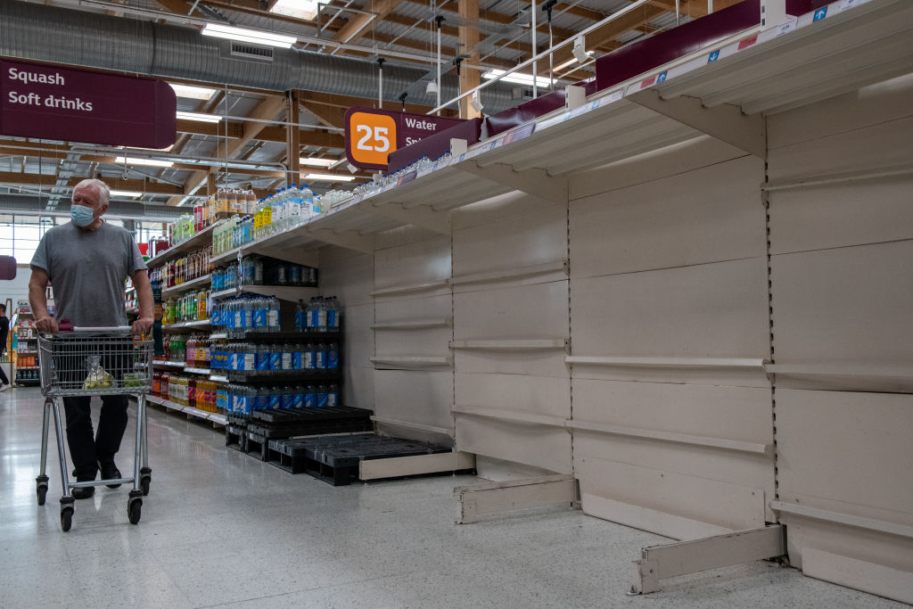 Harga supermarket naik lima persen di tengah melonjaknya biaya rantai pasokan : CityAM