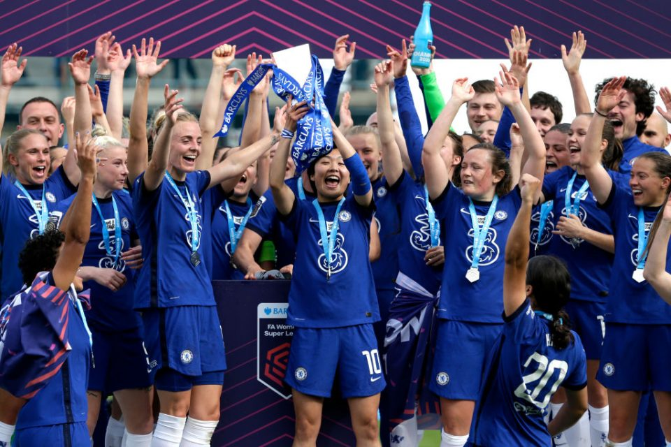 Chelsea defended their WSL title last season and reached the Champions League final
