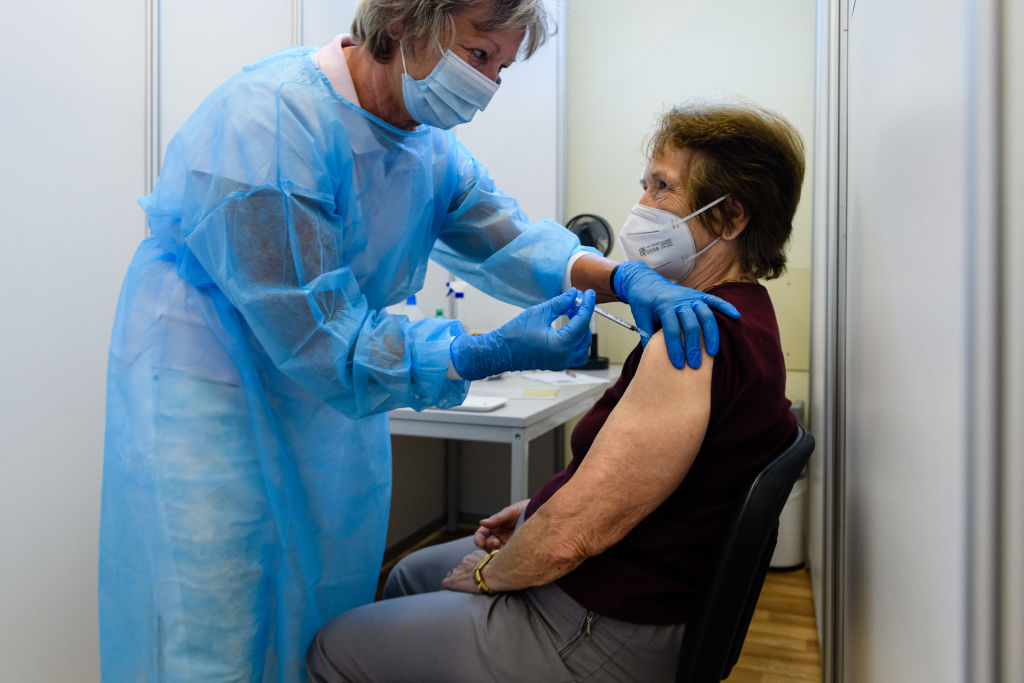 Central London least vaccinated place in England