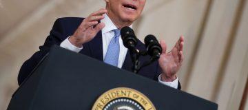 President Biden's Delivers Remarks On Ending Afghanistan War