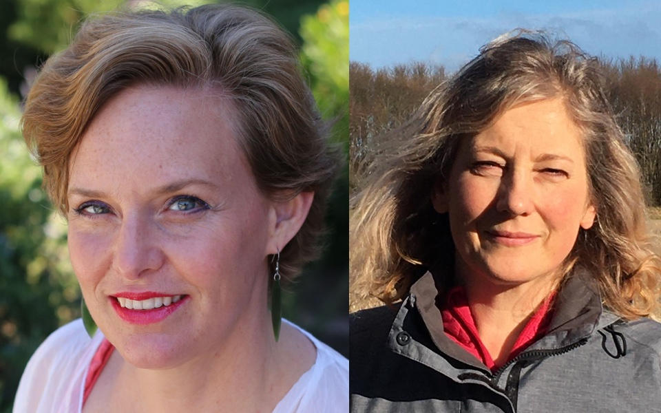 Siobhan Turner and Claire Blackler both became a Master of Wine