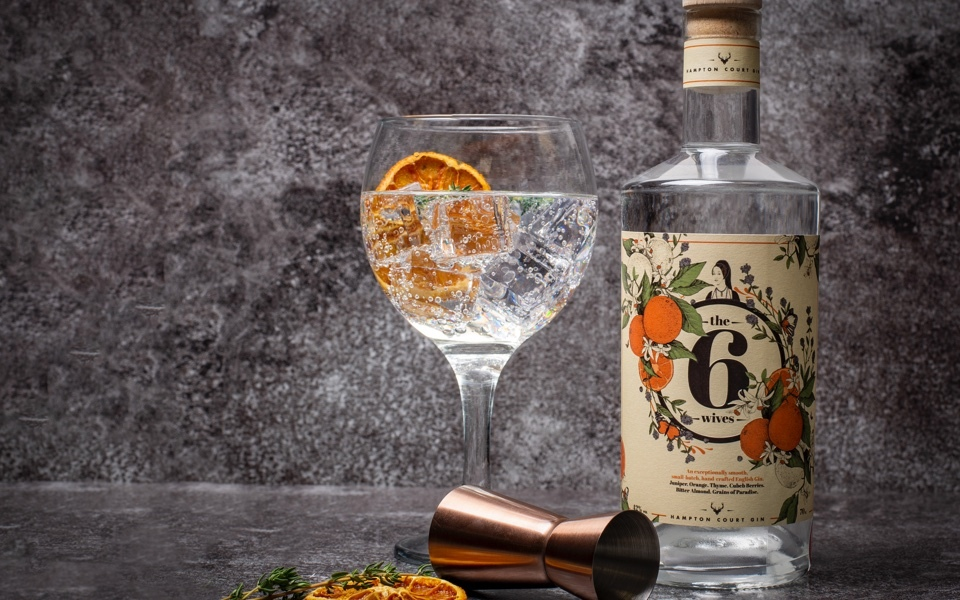 Six Wives small-batch gin