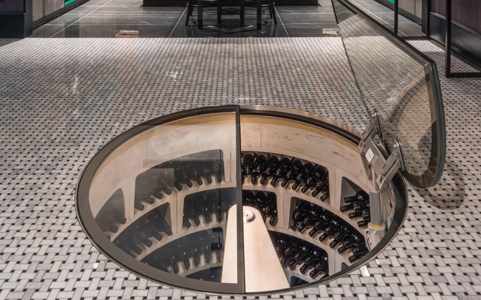 A wine cellar by Spiral Cellars