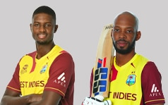 West Indies will wear the Apex logo on their shirts at the T20 World Cup